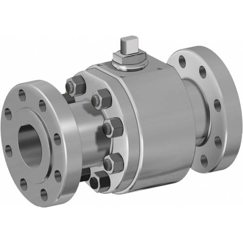 Thor Split Body PN 63-100 ANSI 600 stainless steel ball valve