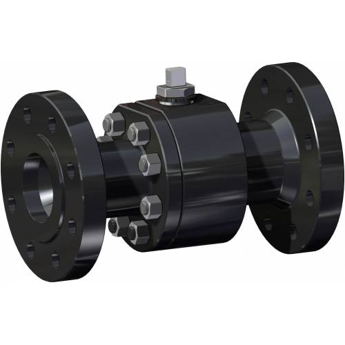 Thor Split Body ANSI 600 reduced bore carbon steel ball valve