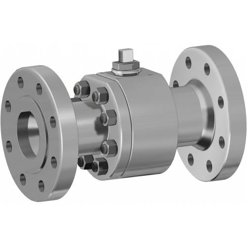 Thor Split Body ANSI 600 reduced bore stainless steel ball valve