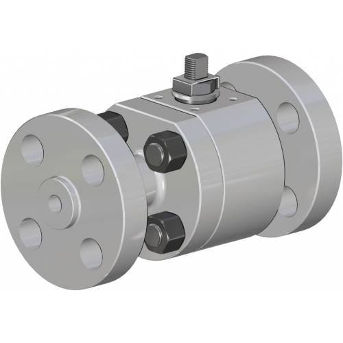 Thor Split Body ANSI 900-1500 stainless steel ball valve