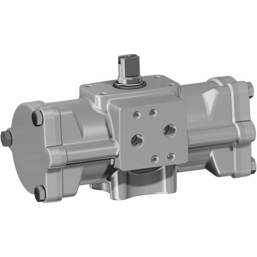 GD (double acting) pneumatic actuator CF8M (microcast stainless steel)