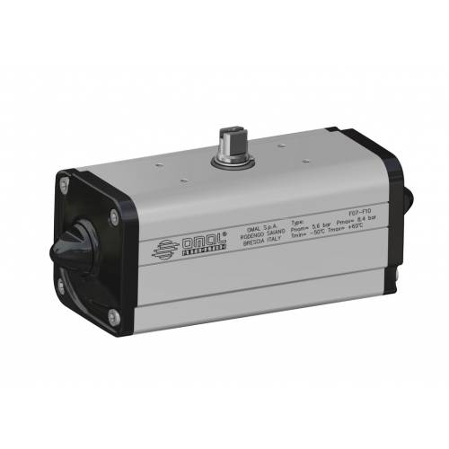 Low temperature double acting DA actuator (-50°C / +60°C)