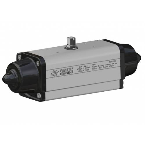 High temperature spring return SR actuator (-20°C / +150°C)