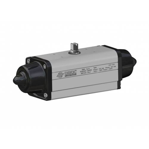 Low temperature spring return SR actuator (-50°C / +60°C)