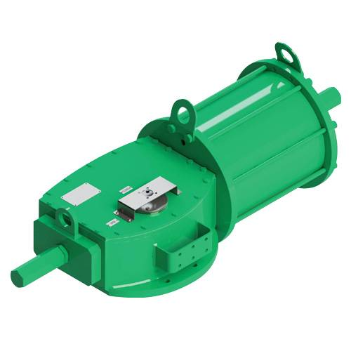 GD (double acting) pneumatic actuator Heavy Duty carbon steel