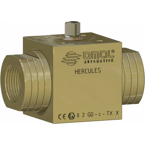 Hercules for non self-lubrificating media carbon steel ball valve