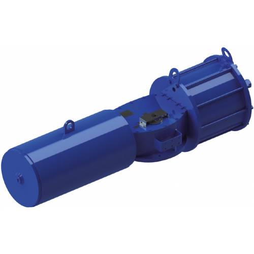 Spring return SR type Heavy Duty carbon steel actuator