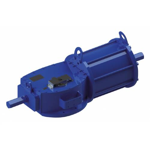 Double acting DA type Heavy Duty carbon steel actuator