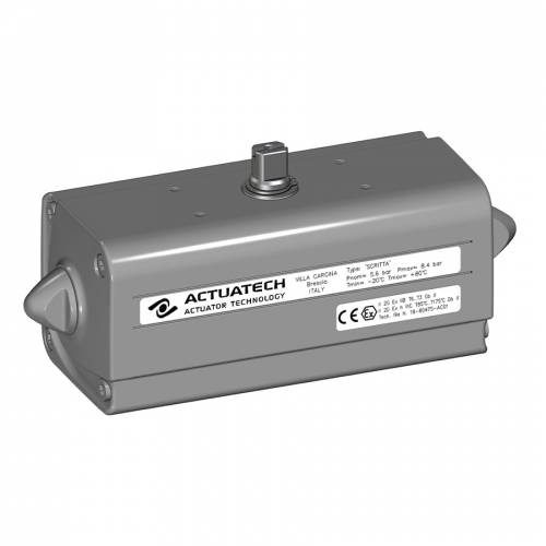 GD (double acting) pneumatic actuator, low temperature (-50°C / +60°C)