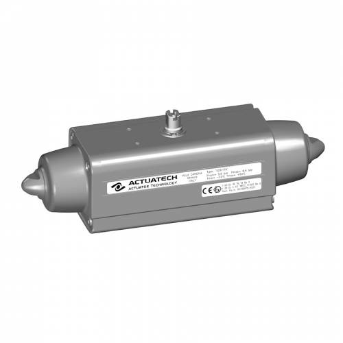 GS (spring return) pneumatic actuator with epoxy coating