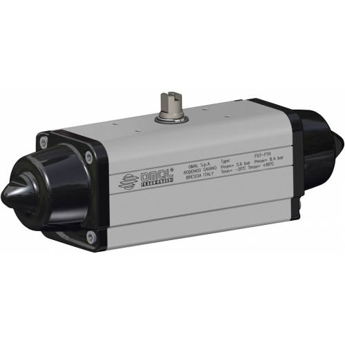 Spring return SR actuator 40 PSI ÷ 2,8 bar